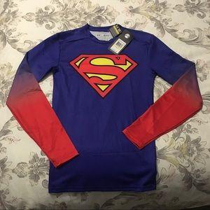 Men's Under Armour Superman Compression Shirt